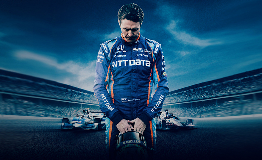 racer Scott Dixon born racer movie image