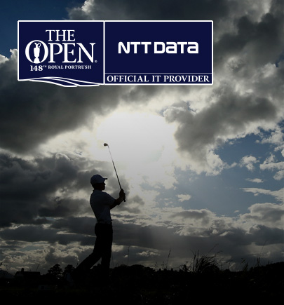 Open Championship image of a golfer in action
