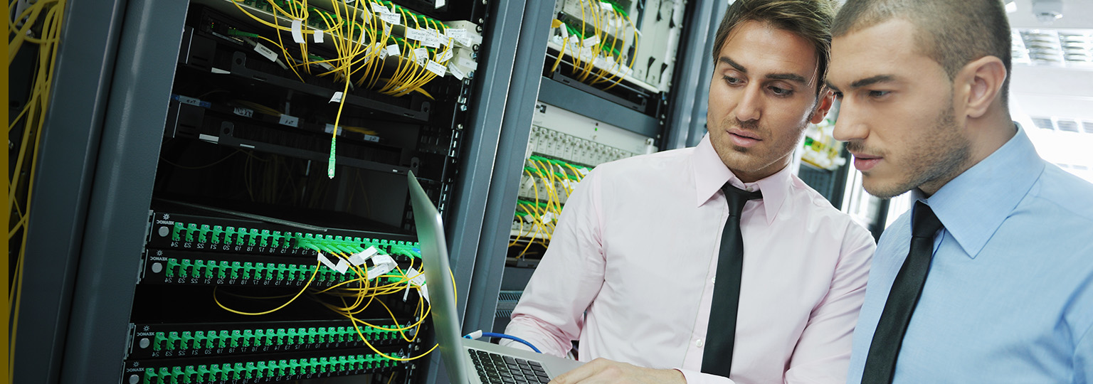 two-engineers-troubleshooting-network-server