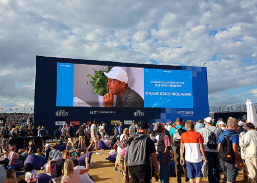 NTT DATA Services Open Championship Blog